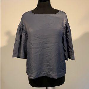 Mossimo Dress Blouse Slate Blue